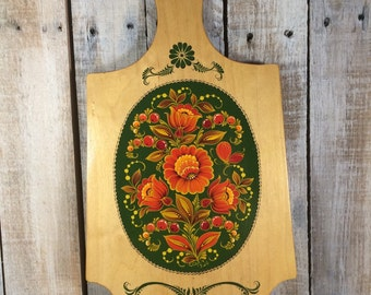 Pennsylvania Dutch - Kitchen Paddle - Wooden Paddles - Dutch Design - Flower Paddle - Decorative Paddles - Dutch Home Decor