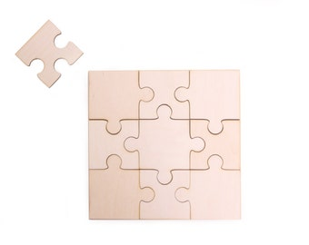 large wooden puzzle, DIY blank puzzle, wooden toy, gift ideas, wooden game, unfinished wood, birthday gift, painting, decoupage