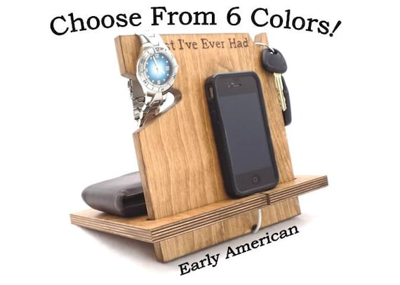 iPhone 6 Dock, Anniversary Gifts For Boyfriend, Gifts For Him, Docking Station, iPhone Accessories, Apple Watch Dock, Fitbit Dock