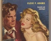 Popular Library: Cleve F. Adams, What Price Murder - 1st Ed, 1952