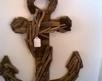 Anchor Drift Wood Wall Art
