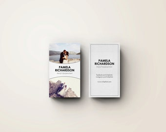 Photography Business Cards Template | INSTANT DOWNLOAD!