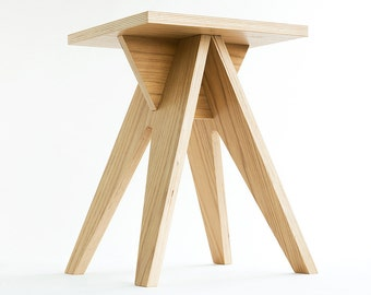 HEDGEHOG - dismountable plywood stool