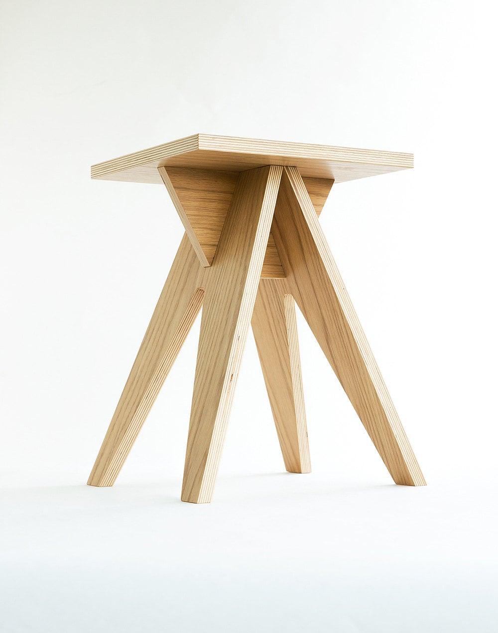 Hedgehog Dismountable Plywood Stool