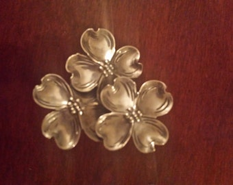 Sterling silver pin by Beau