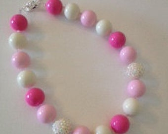 Princess Pink Bubblegum Necklace