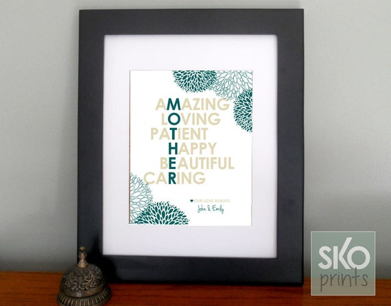 Personalized Wedding Gift For Mom : Personalized Gift for Mom Gifts for Mothers Day Gift or Mom Birthday ...