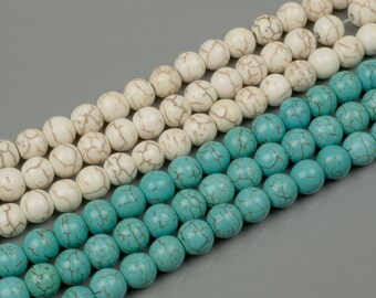 8mm Magnesite Turquiose 15 Colors
