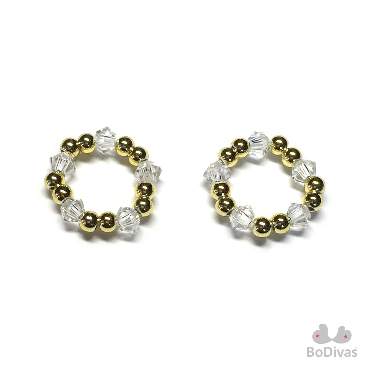 nipple jewelry stretch rings pasties swarovski beads by
