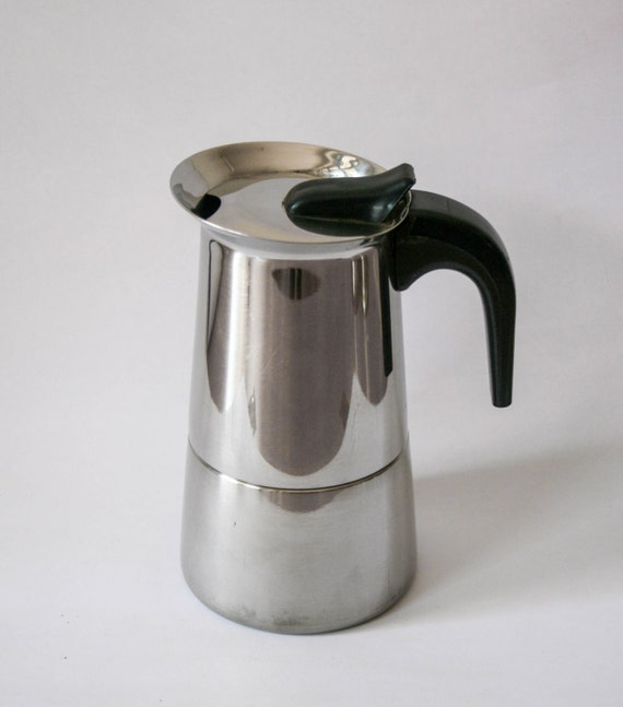 Italian Coffee Maker Gb : Vintage GB Guido Bregna Coffee Maker Stovetop Stainless