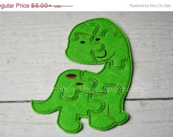 Dino Puzzle w/Storage Pouch, Quiet Game, Toddler Toy, Travel Toy, Party Favor