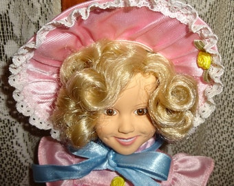 "Shirley Temple 15"" Porcelain Doll"