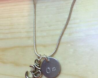 Om Yoga Necklace (LL94)
