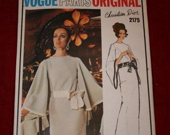 Vogue Paris Original Pattern Christian Dior #2175 Size 12