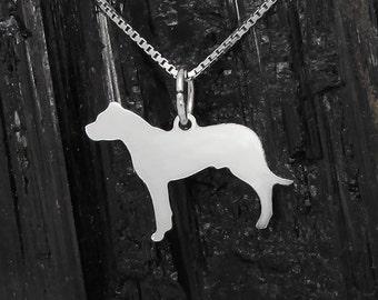Dogo Sterling Silver Pendant