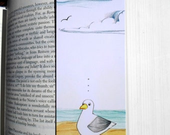 Seagull Distractions Bookmark