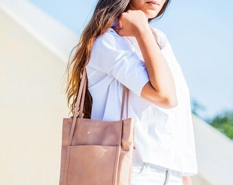 Leather bag - Handmade leather bag - Tote bag - NETA bag