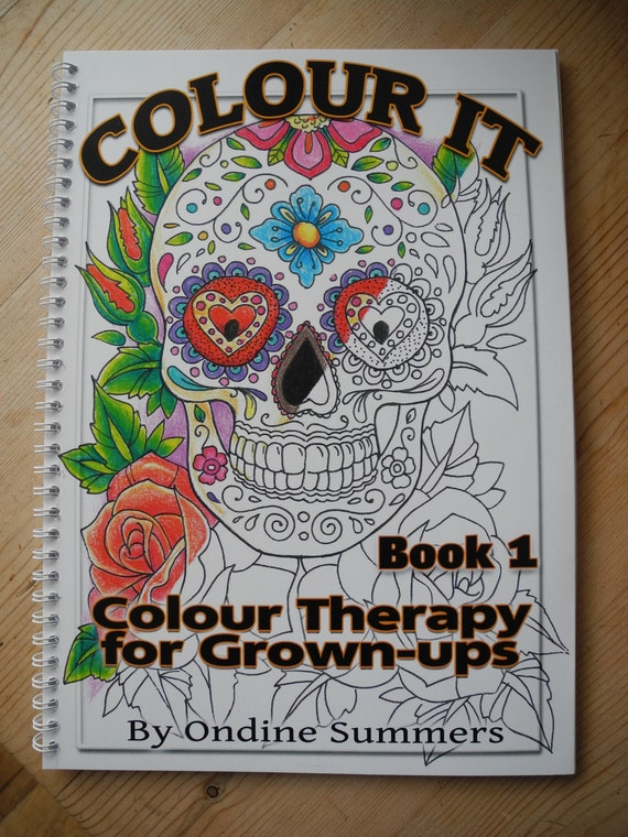 Grown up Colouring book 1