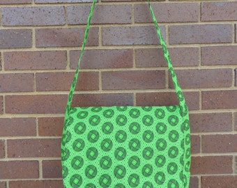 Messenger Bag: Bright Green