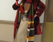 Doctor Who 4th Doctor Scarf 14 Foot Screen Accurate Colors