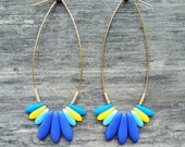 Spark Earrings: Pool Party