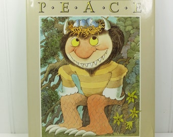 The Big Book for Peace, 1990 First Edition, Maurice Sendak Illustrations