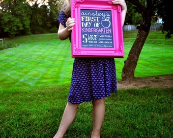 PRINTABLE First Day of School Sign