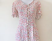 SALE 90's Grunge Floral Dress Sz XS-S
