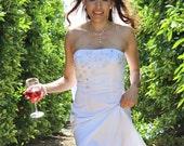 Bridal Shower Gift, Wedding Favor, Rehearsal Dinner, Personalized Wine Glasses, Stemless wine glasses, Wedding Reception, Table Decor
