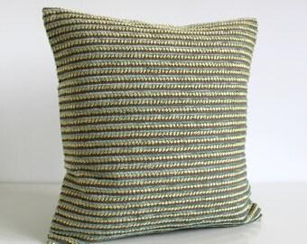 Pillow Cover, 16x16 Pillow Cover, Pillow Sham, 16 Inch Accent Pillow, Cushion Cover, Pillow Case, Throw Pillows, Pillow - Chunky Duck Egg