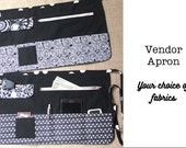 Vendor Utility Apron - choose your fabrics - for craft shows, festivals, bazaars and fairs