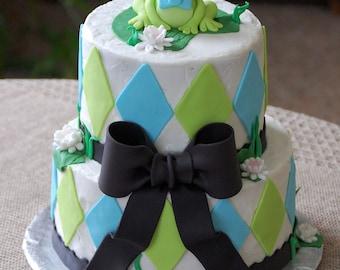 Custom Fondant Cake Details