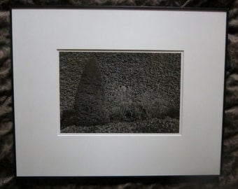 Vintage Photography Landscape Art Photography by Colleen Chartier Pacific Northwest Photographer Framed 1978