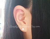 Small Tragus Hoop Ear Cuff Clip On Earring - Sterling Silver/14K Gold Filled
