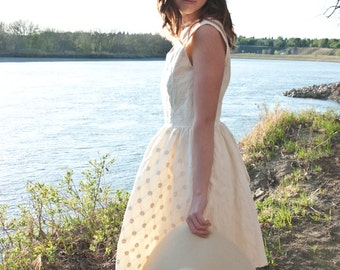 Ivory Eyelet Dress | Casual Wedding Dress | Summer Dress