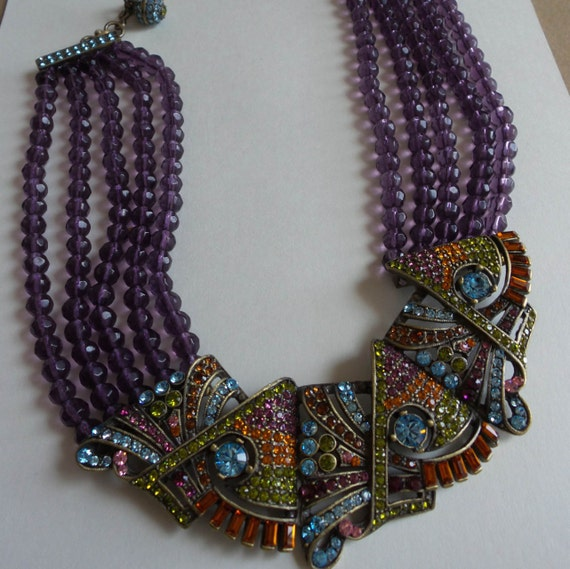 Heidi Daus Necklace Vintage