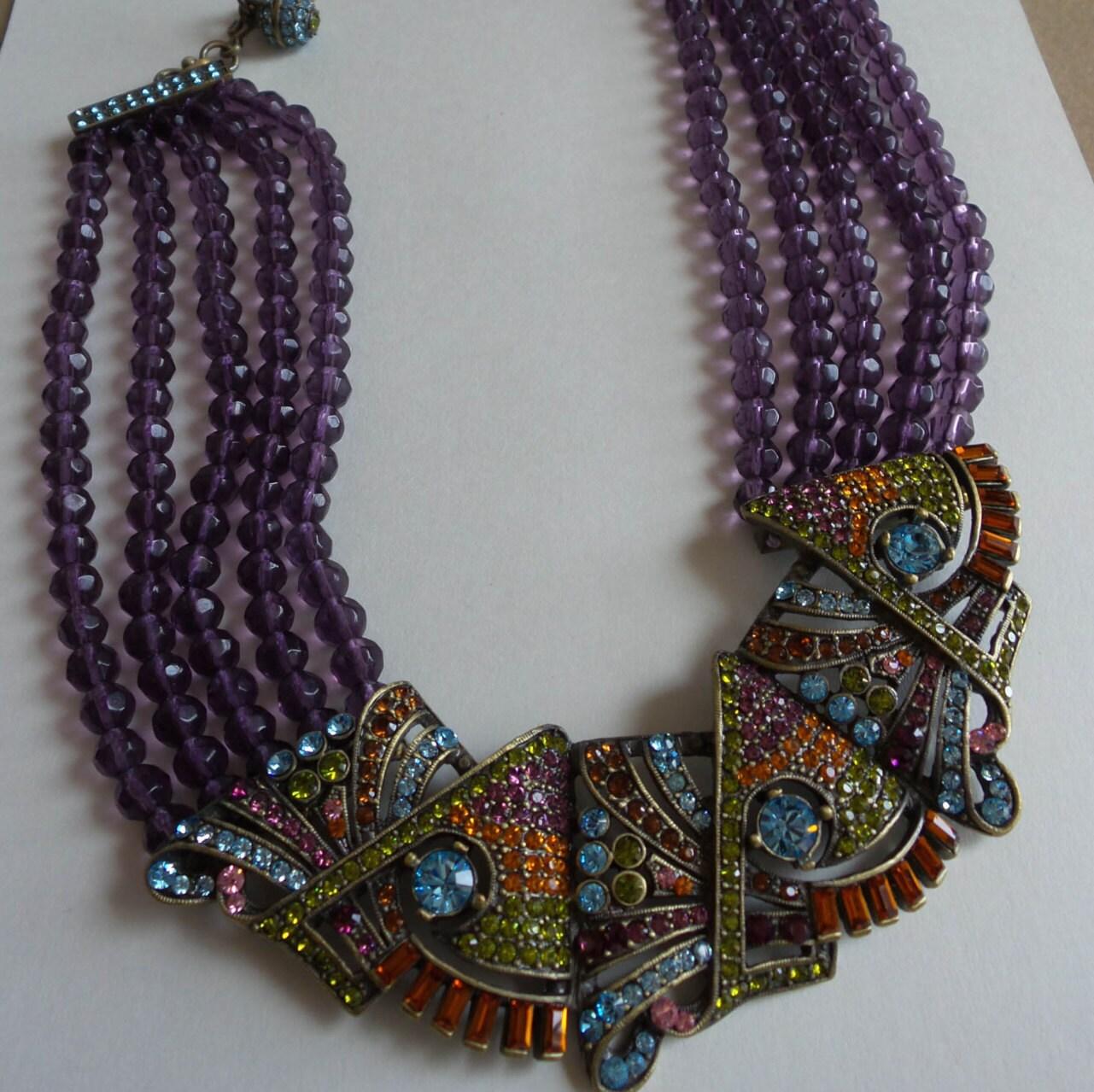 Heidi Daus Necklace Vintage