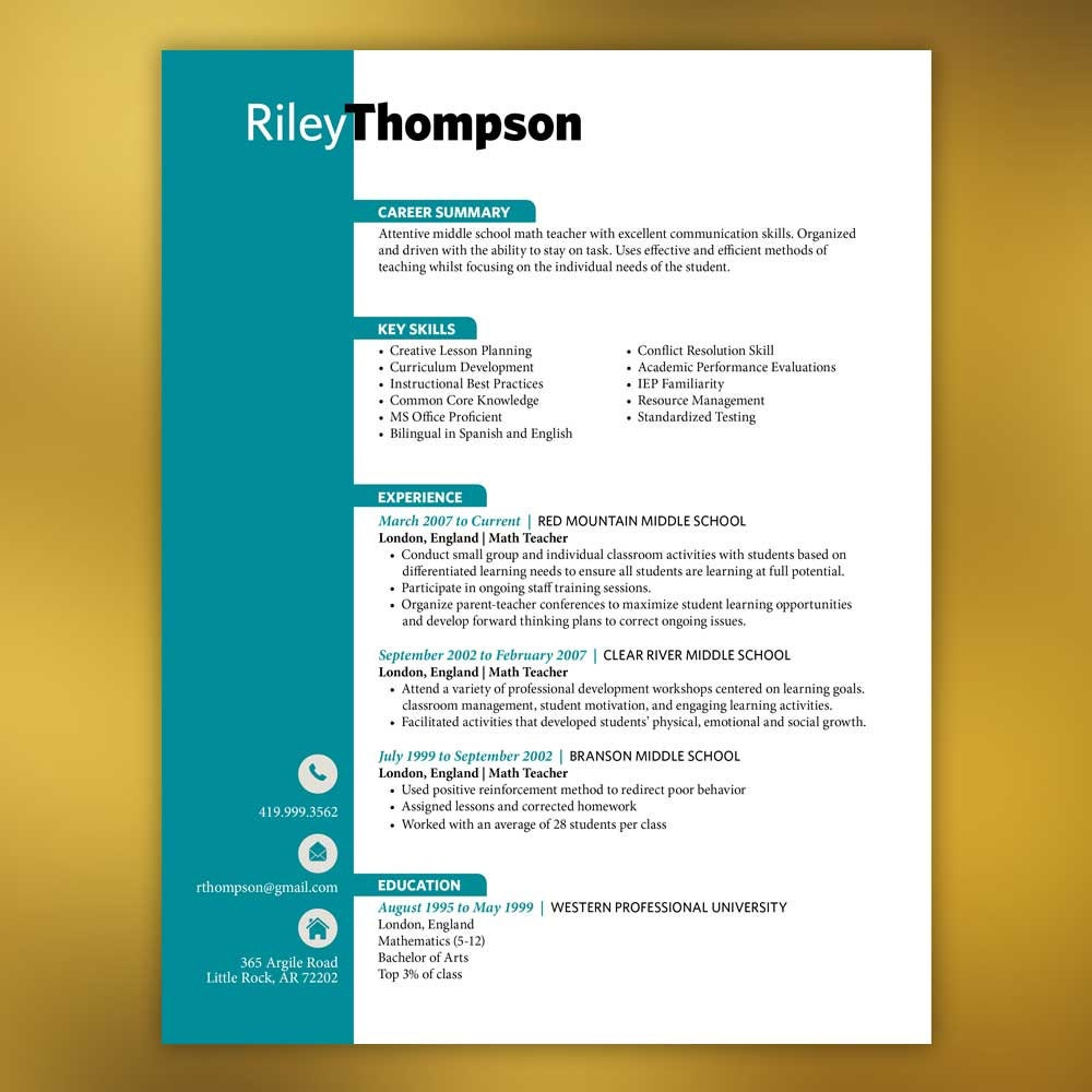 resumes teacher resume template pages microsoft word 128270zoom