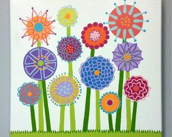 Garden Canvas Name Larson Designs