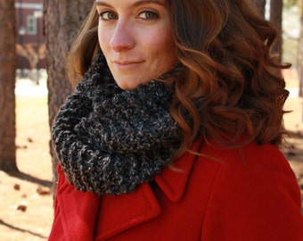 Rich Granite Infinity Scarf