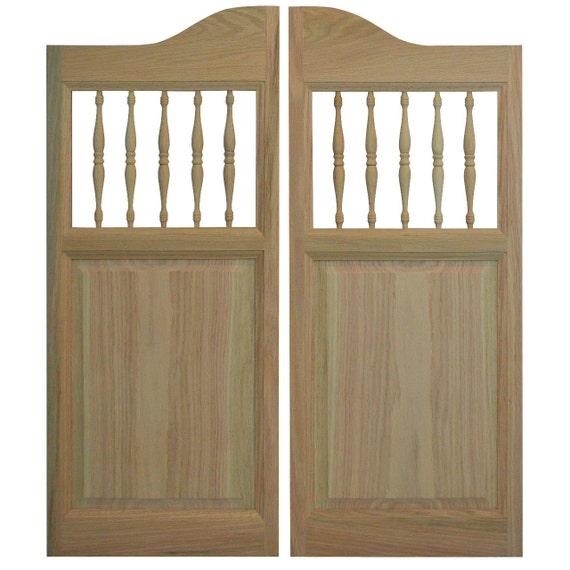 Custom solid oak western cafe doors saloon by swingingcafedoors - Cafe swinging doors kitchen ...