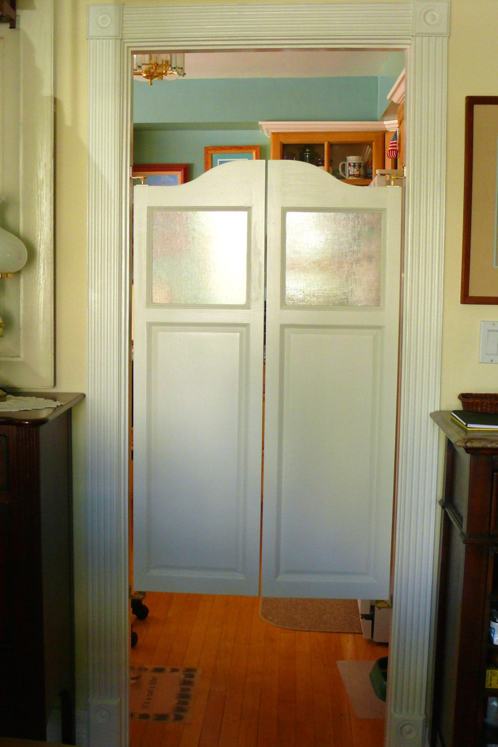 $414.99+ & Poplar Cafe Doors / Saloon Doors with Glass Window Kit from ...