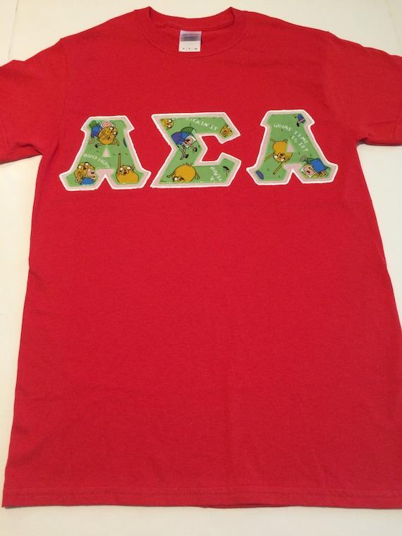 custom greek letter shirt alpha sigma alpha
