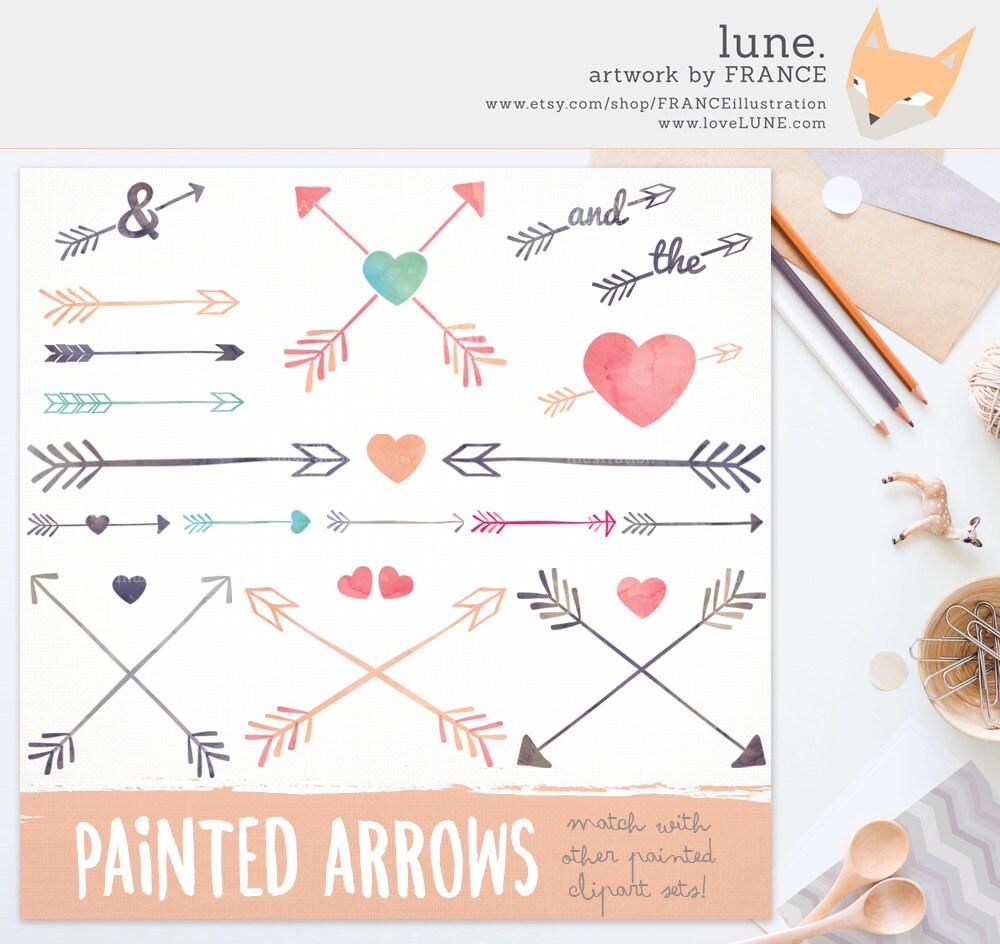 Arrow clipart | Etsy