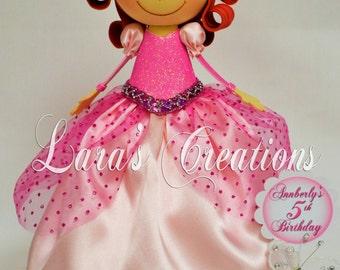 Fofucha Ariel, Foam Doll, Ariel party. Princess Ariel Centerpiece.