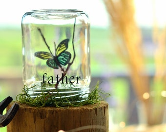 Father gift | Father of the bride present | Daughter to father gift | Gift for him | Father daughter | Father birthday | Butterfly kisses
