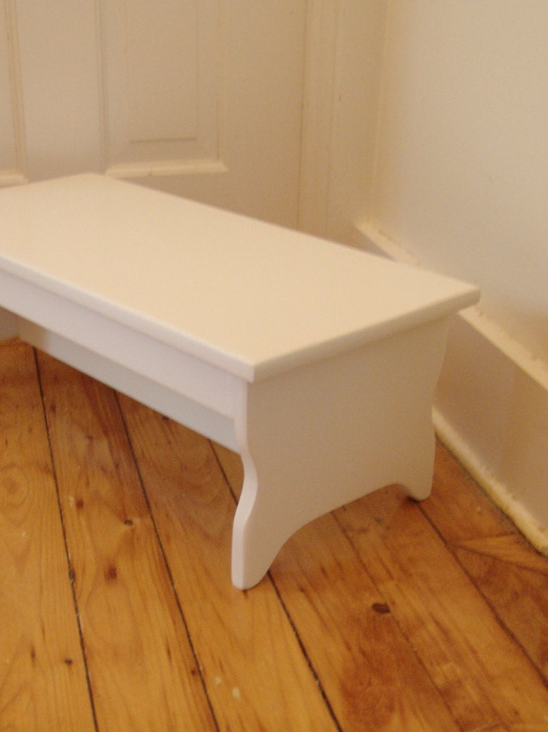 Wooden Step Stool Bedside: Handcrafted Heavy Duty Step Stool 27 Long X