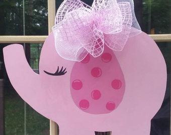 Its a girl door hanger, hospital door hanger, baby girl door hanger, its a girl wreath, hospital door wreath