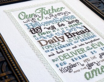 The Lord's Prayer | Cross-Stitch Pattern