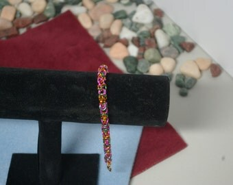 Party - Multi Color Byzantine Chain Mail Weave